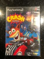 Crash Tag Team Racing Sony Playstation 2 PS2 Video Game New Sealed
