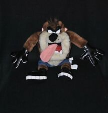 Peluche doudou taz diable de tasmanie Looney Tunes Warner Bros jeans 26 cm TTBE