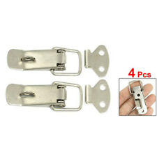 New 4 Pcs Silver Hardware Cabinet Boxes Spring Loaded Latch Catch Toggle Ha Z5J4