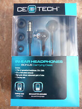48 lot pack new CE E TECH EARBUD S/M/L IN EAR HEADPHONES SMARTPHONE IPHONE IPOD