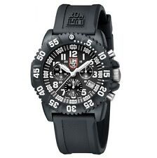EMS Free ! Luminox Colormark Navy Seals 3081 Mens Chronograph Watch Divers New