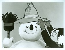 FROSTY PORTRAIT RANKIN BASS FROSTY THE SNOWMAN ORIGINAL 1977 CBS TV PHOTO