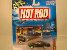"1971 PLYMOUTH  DUSTER   ""HOT ROD""   1:64 scale by Johnny Lightning"