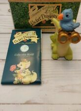 """Whimsical World of Pocket Dragons """"Bird Watcher"""" by Real Musgrave w/ Box (1999)"""