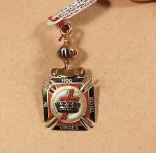 Freemason, Knight's Templar, 14K Gold, Scottish Rite Watch Fob, Pretty Neat Pc.