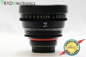 (💎Mint) Samyang XEEN 14mm T3.1 CINE Cinema Lens Canon EF Mount Multi-Coating
