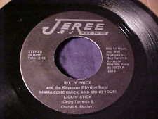 BILLY PRICE~RARE OBSCURE NORTHERN SOUL R&B FUNK 45 Original on JEREE Hear