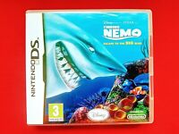 FINDING NEMO - ESCAPE TO THE BIG BLUE - ( NINTENDO DS ) - PAL - INCLUDES MANUAL