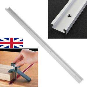 Aluminium Alloy T Track Miter 600mm Slider Miter Jig Woodworking Tool UK