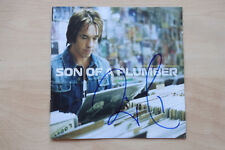 "Per Gessle ""Roxette"" Autogramm signed CD Booklet ""Son Of A Plumber"""