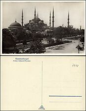 CONSTANTINOPLE KONSTANTINOPEL ISTANBUL - Sultan-Achmed-Moschee - sw-AK um 1930