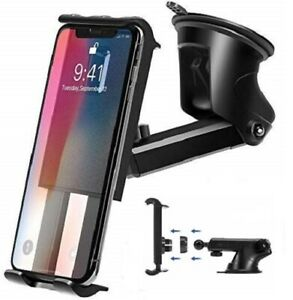 Universal Car Holder Dashboard & Windshield Mount Stand for Cell Phone, Tablet