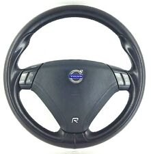 Genuine Volvo R S60R, V70R black leather MFSW steering wheel S60 V70 T5 etc. 3A