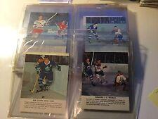 Toronto Star rare hockey card set (5 missing) 1964