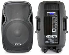 cassa amplificata attiva 800w woofer 38 cm CON BLUETOOTH USB-SD-DISPLAY KARAOKE