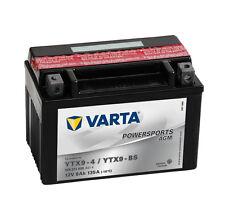VARTA Powersports 12V 8 Ah YTX9-BS AGM Motorradbatterie 8Ah Motorrad Batterie