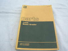 Caterpillar 140G Motor Grader Parts Book Vintage 1980 72V1 - 72V822 & 81V1 -381