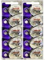377 MAXELL WATCH BATTERIES SR626SW (10 piece) SR626 V377 SR66 NewAuthorzedSeller