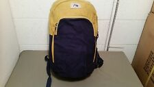 NWT QUIKSILVER Navy & Chartreuse Backpack Bookbag~Retail $45.00
