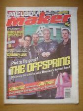 MELODY MAKER 1999 JAN 30 OFFSPRING GARBAGE KENICKIE