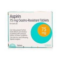 28 tablets Aspirin 75mg ENTERIC COATED Tablets