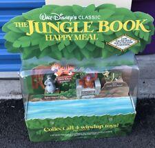 1990 McDonalds Walt Disney Jungle Book Happy Meal Toy Display