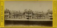 Palais Royal Parigi Francia Stereo Vintage Albumina Ca 1875
