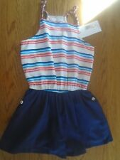 BNWT girls playsuit / jumpsuit. m&s. RRP £16. 7-8 years.             (2/2)