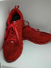 red running shoes size 8.5