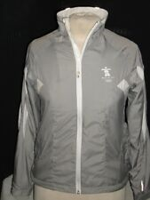 SUNICE Vancouver 2010 Olympic Winter Games Gray/ White Poly Full Zip Jacket XS