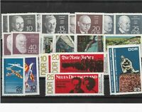 German Democratic Republic mint never hinged stamps Ref 13782