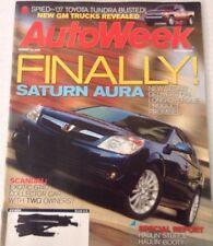 AutoWeek Magazine Saturn Aura Exotic GT40 August 14, 2006 080317nonrh