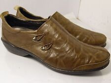 Romika Brown Distressed Sneakers Slip On Womens Size 40