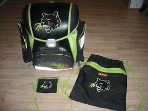 Step by Step Schulranzen Set -Jungen- TOUCH Panther Wild Cat