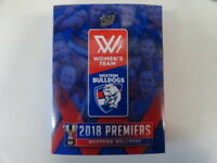 2018 AFLW SELECT PREMIERSHIP SET OF 23 CARDS WESTERN BULLDOGS ONLY 500 MADE