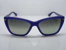New PERSOL 3023-S 9003/71 Matte Blue Curacao Ladies Sunglasses 56mm