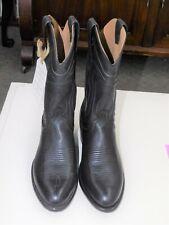 NWT MEN'S TECOVAS BLACK CALFSKIN CARTWRIGHT COWBOY BOOTS