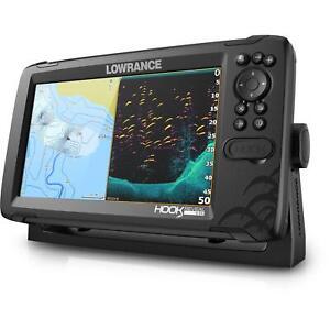 Lowrance Reveal 9 Tripeshot / Fishfinder GPS