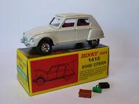 Citroen DYANE - ref 1413  au 1/43 de dinky toys atlas