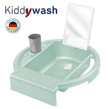 Rotho Baby Kiddy wash Kinder Waschbecken für Badewannenrand swedish green