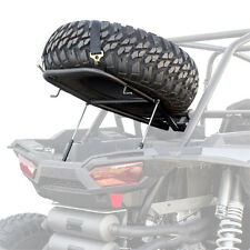 HMF Racing IQ Spare Tire Mount Rack Black Polaris All RZR XP1000 Turbo