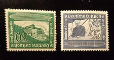 Germany airmail  stamp set #s C59-60  mint OG NH XF