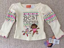 Filles Dora à manches longues T-shirt 12-18 Mois BNWT