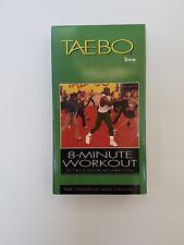 TAEBO LIVE 8-MINUTE BILLY BLANKS VHS Tape for Women and Men