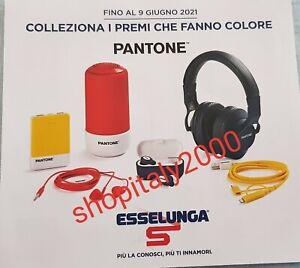 """60 Bollini Punti ESSELUNGA, """"Collezione PANTONE"""" 2021"""