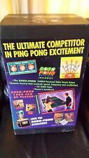 "TABLE TENNIS PING PONG ""ROBO PONG 1000"" ROBOT MACHINE NEW IN BOX"