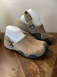 Men's Swiftwater™ Leather Clog Size 8