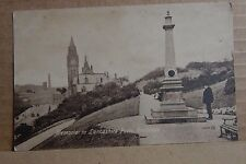 Postcard Memorial To Lancashire Poets Rochdale unposted