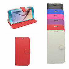 Case For Samsung Galaxy S6 Wallet Flip PU Leather Stand Card Slot Pouch Cover