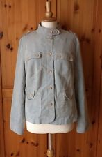 PRINCIPLES Size UK18 EU44 US14 pale pastel blue corduroy casual cord jacket